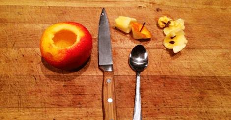 【DIY】蘋果創意吃法!只要十分鐘輕鬆完成幸福甜點!
