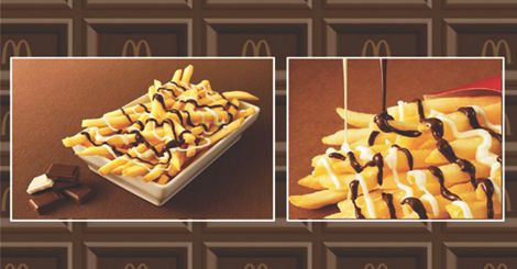 麥當勞新商品!薯條加上神秘黑白醬,舌尖上的矛盾大對決!