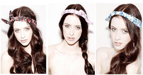 【造型】學會這些簡單的頭巾綁法,讓妳的造型瞬間有型!