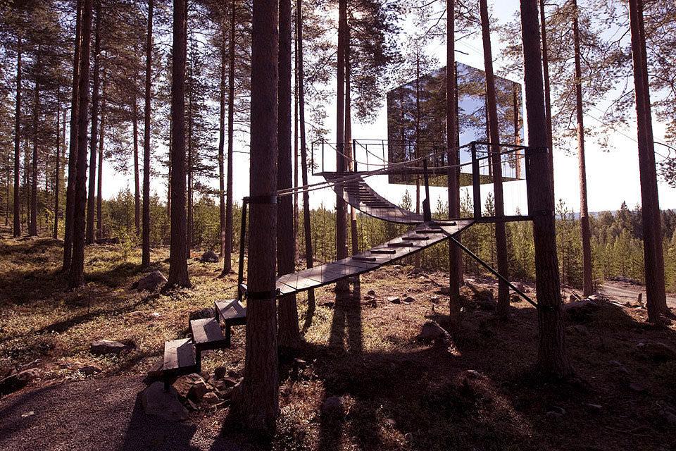 瑞典森林小木屋