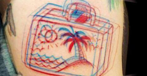 【刺青】雙線條3D刺青!給喜歡簡單與特別的你來刺