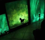 【藝術】讓人想收藏的畫作!螢光帶你進入迷幻的畫裡