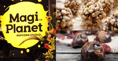 新世代的爆米花長這樣!?  Magi Planet全球首間門市今天宣布在微風北車站隆重開幕