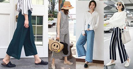 【穿搭教學】藏住妳的小粗腿 韓星最愛寬褲幫妳拉長身材比例
