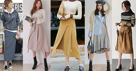 過膝裙穿搭:今年冬天熱門元素,意外保暖又時尚!