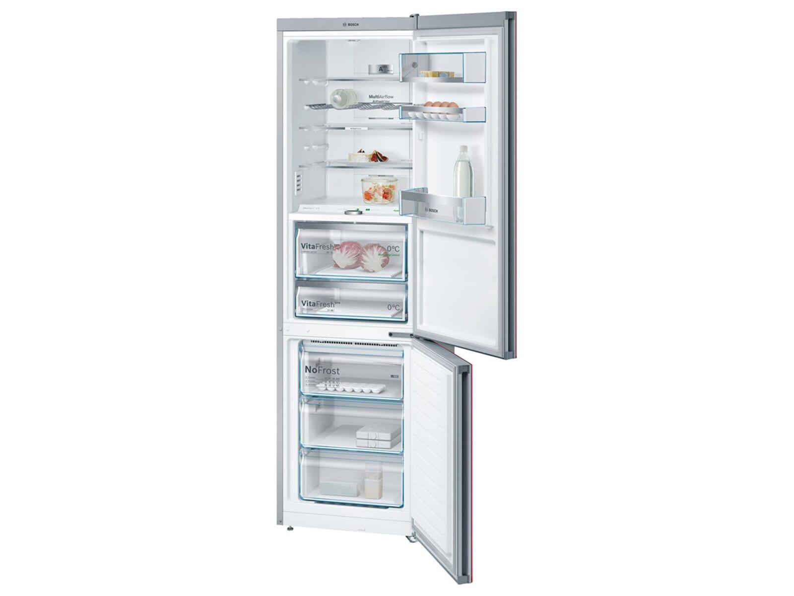 Bosch Kühlschrank Gefrierkombination : Kühl gefrierkombination rot smeg fab lrd kühl