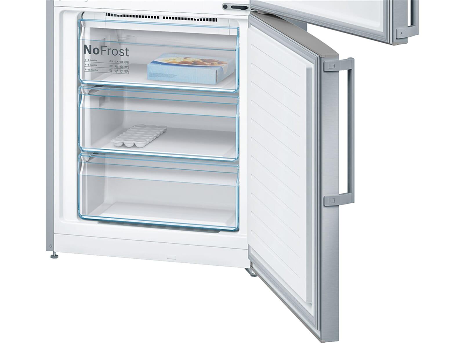 Bosch Kühlschrank Kgn 39 Xi 45 : Kühl gefrierkombination edelstahl bosch kgn ai a