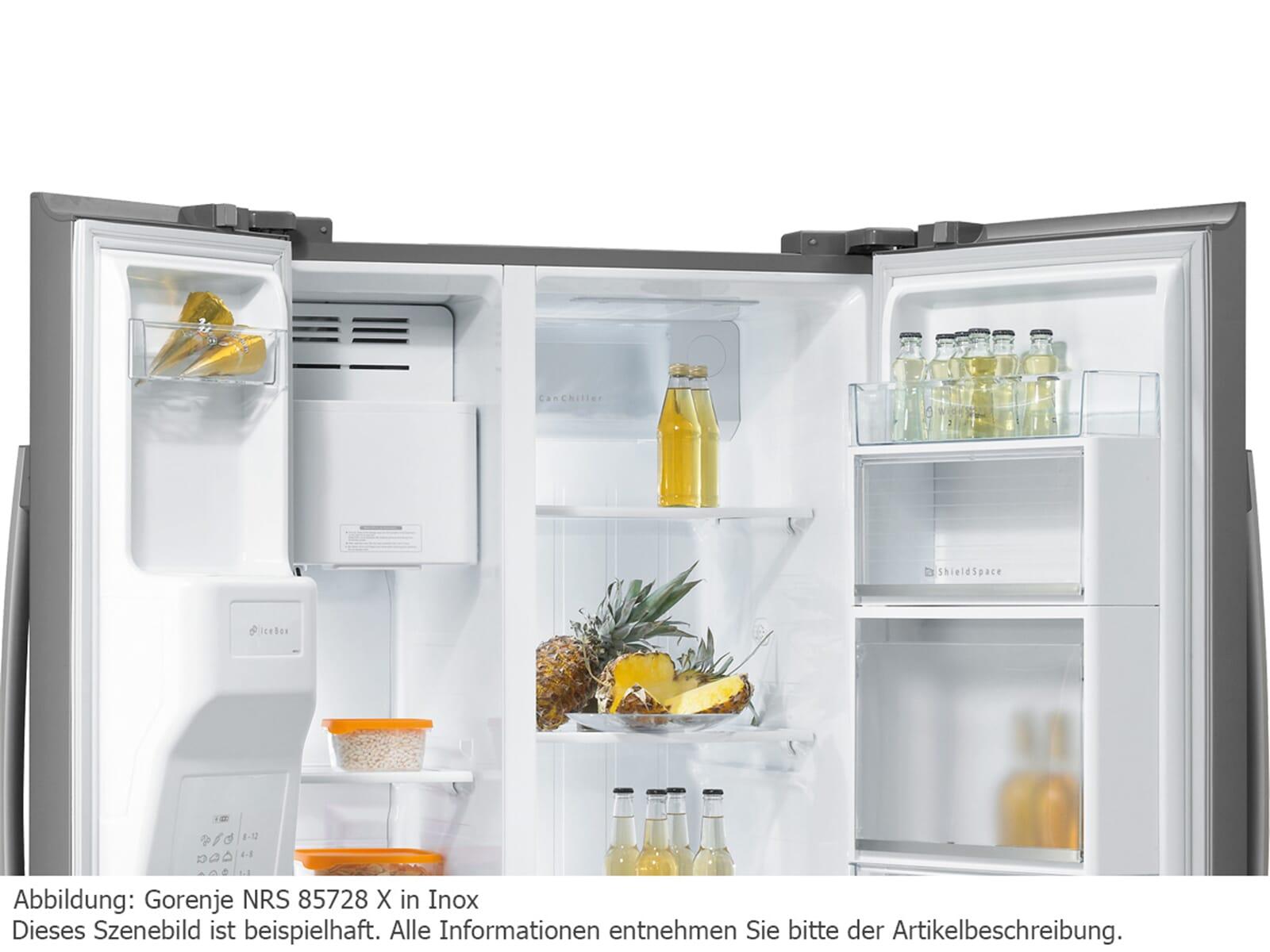 Gorenje Kühlschrank Zweitürig : Gorenje side by side kühlschrank side by side khlschrank gorenje