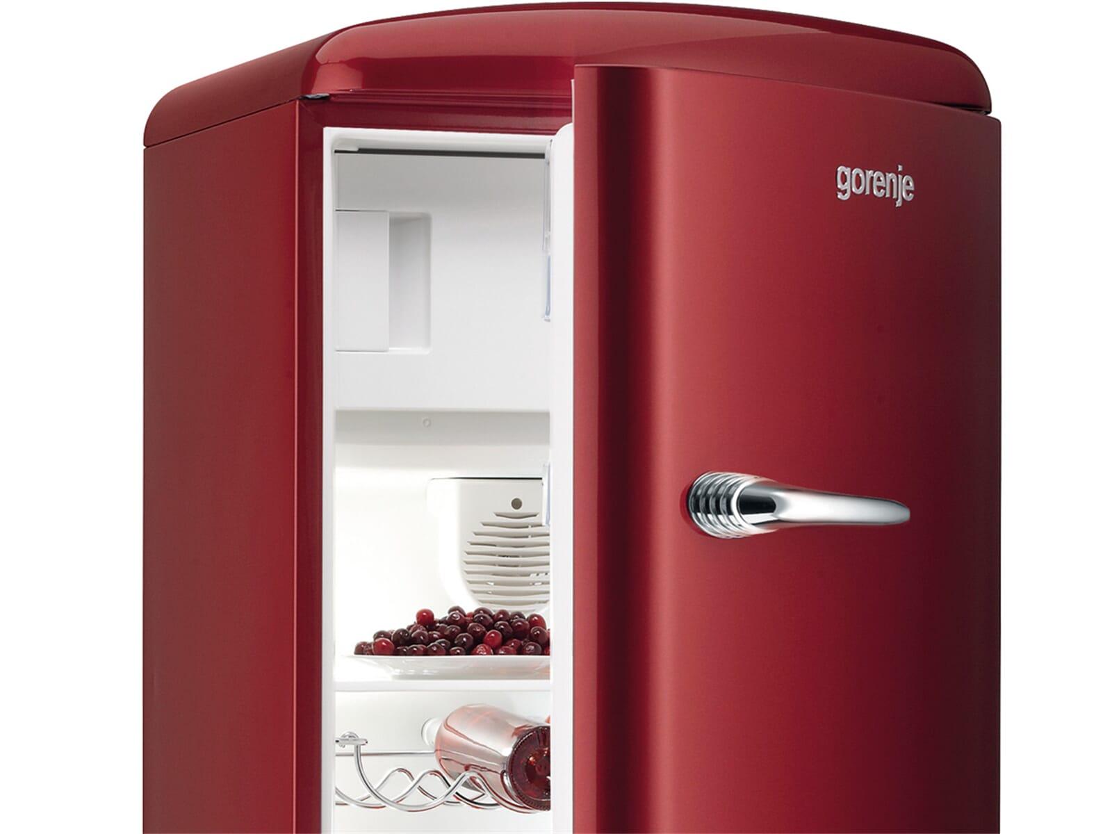Kühlschrank In Rot : Kühlschrank retro gorenje cool retro kühlschrank günstig