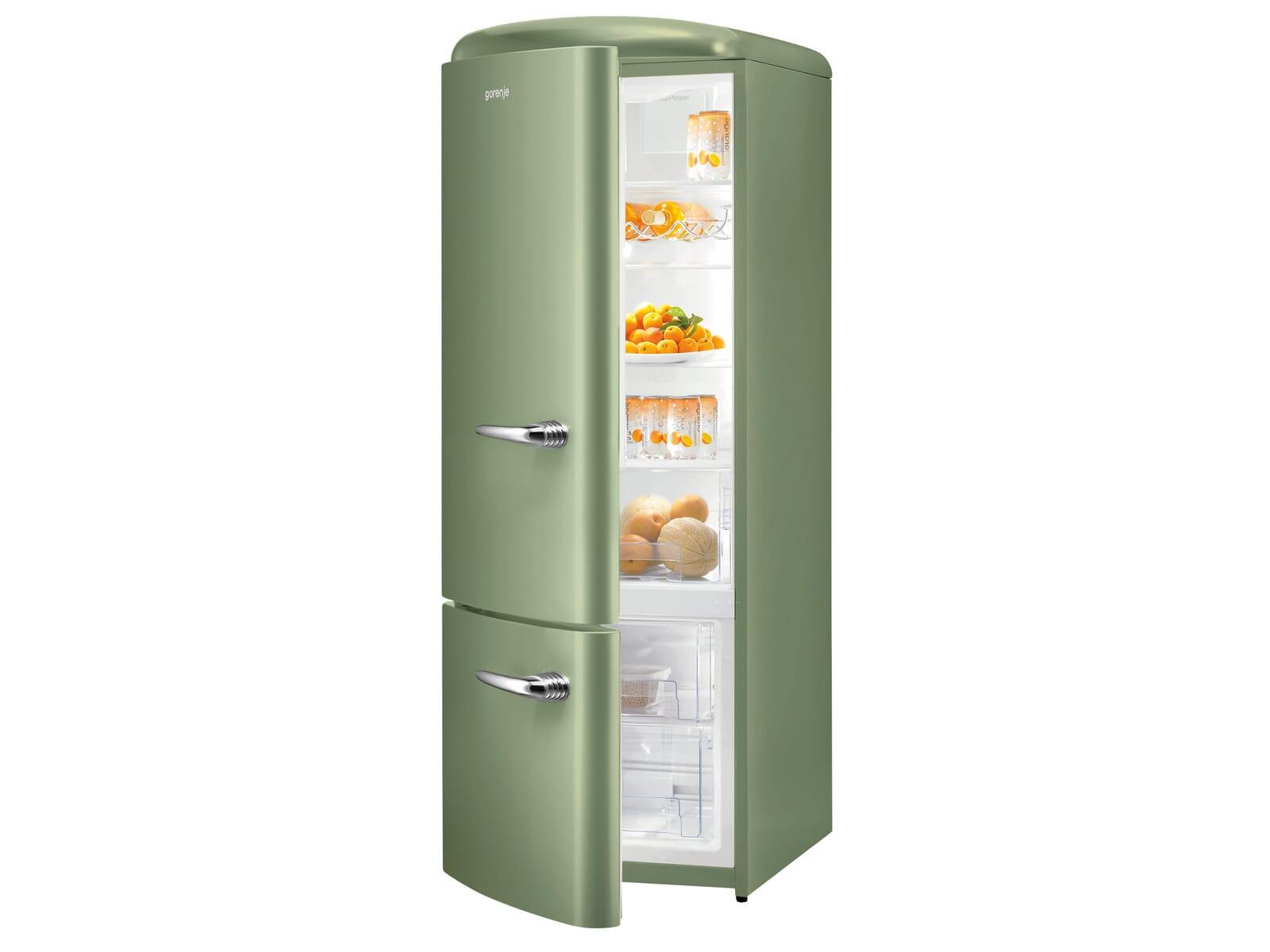 Retro Kühlschrank Mit Eiswürfelbereiter Kühl