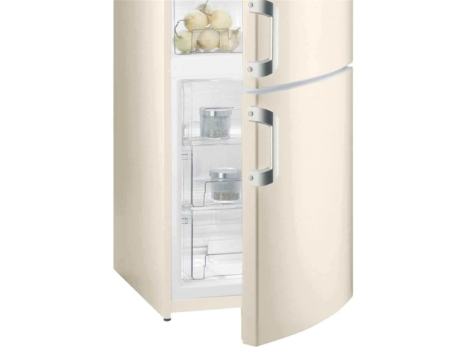 Retro Kühlschrank Respekta : Retro kühlschrank gefrierkombination gorenje rk r test