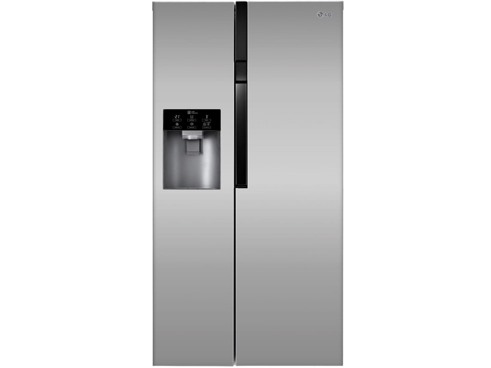 Kühlschrank Lg : Lg kühlschrank mit eiswürfelbereiter lg gsj didv side by