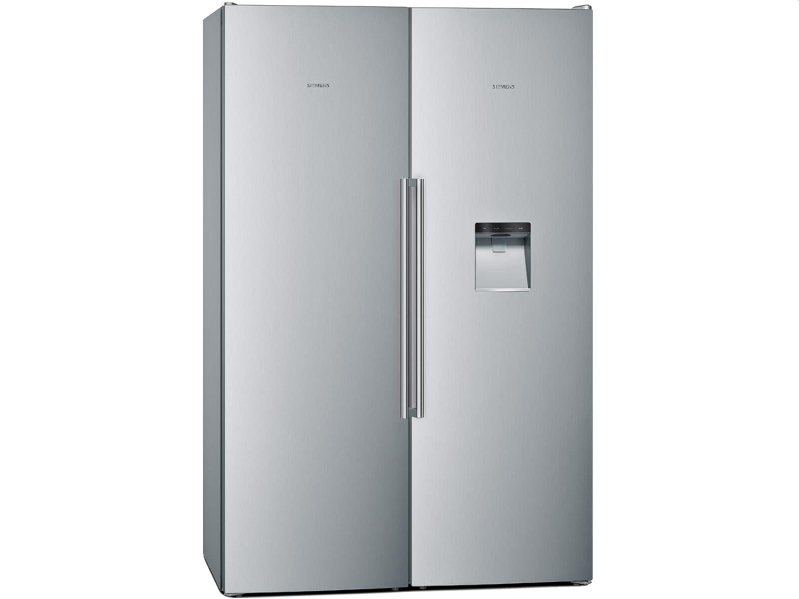 Smeg Kühlschrank Eiswürfel : Edelstahl kühlschrank mit eiswürfelbereiter smeg sbs ned side