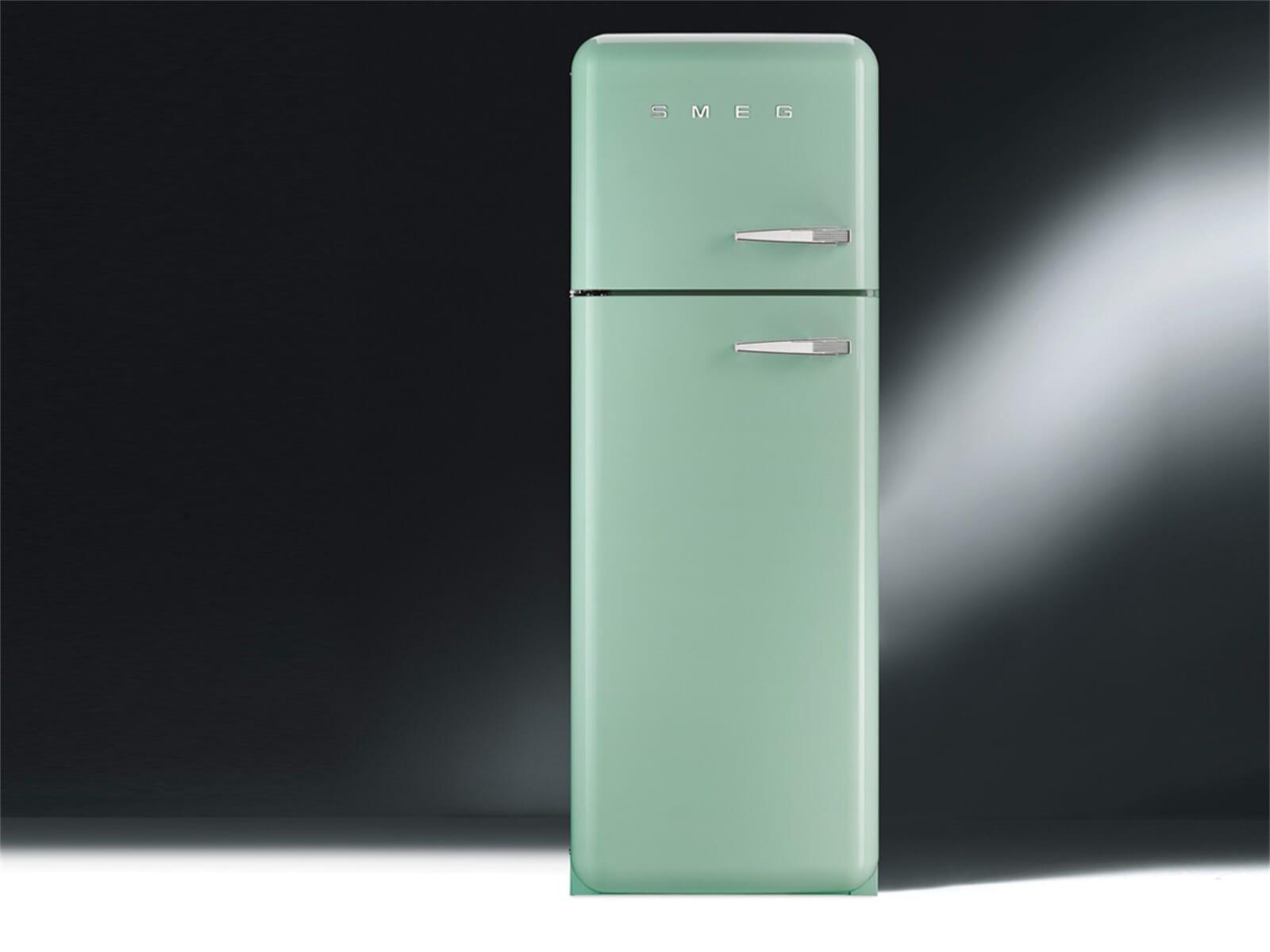 Retro Kühlschrank Pastellgrün : Retro kühlschrank smeg frigorifero smeg fab rr rosso designperte it