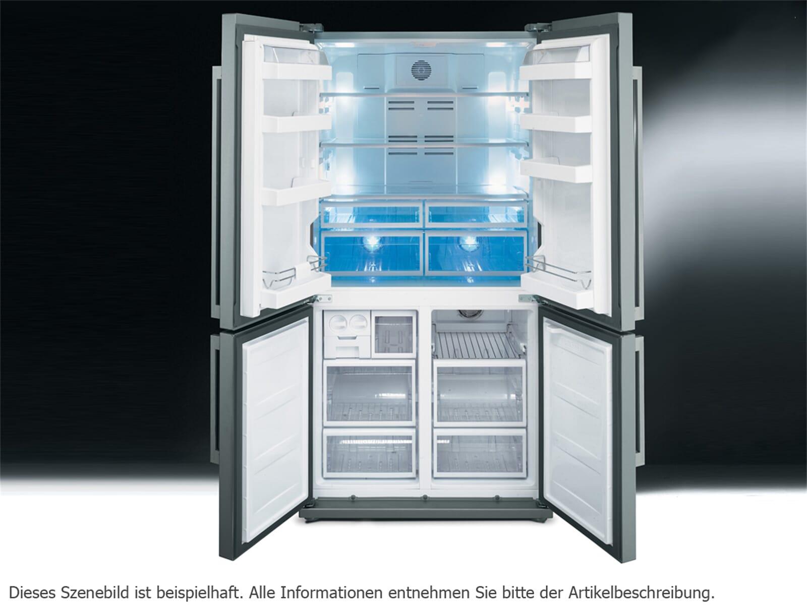 Amerikanischer Kühlschrank Smeg : Gefrier kühlschrank kombination smeg fq pe side by side kühl