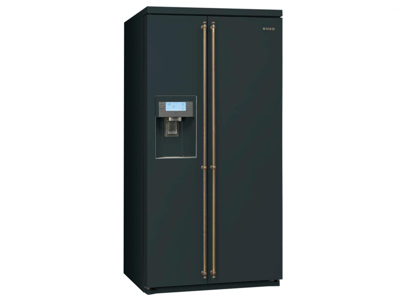 Kühlschrank In Schwarz : Side by side schwarz haier hrf cjb glasfront schwarz bei