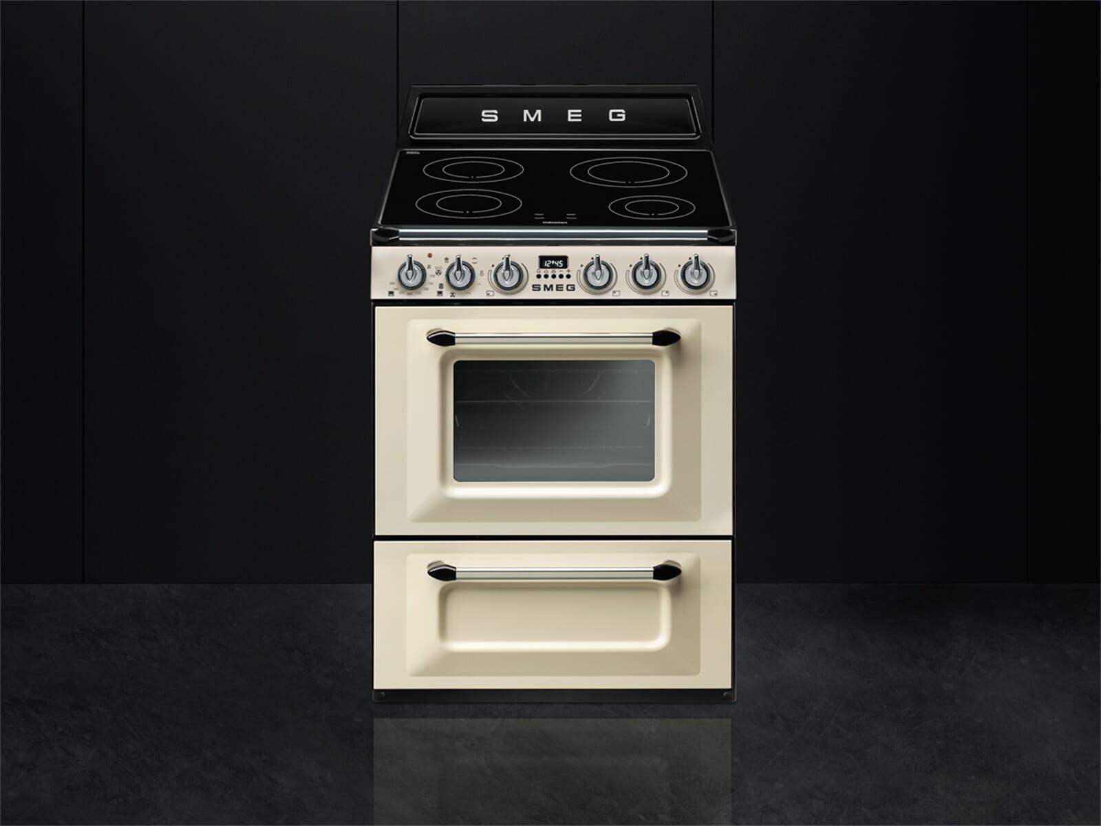 Retro Kühlschrank Creme : Smeg kühlschrank creme gebraucht gas elektroherd