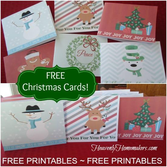 Free Printable Christmas Cards - Money Saving Mom®  Money Saving Mom®