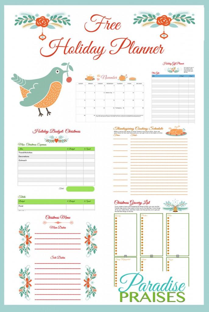 Free Printable Holiday Planner - Money Saving Mom®  Money Saving Mom®