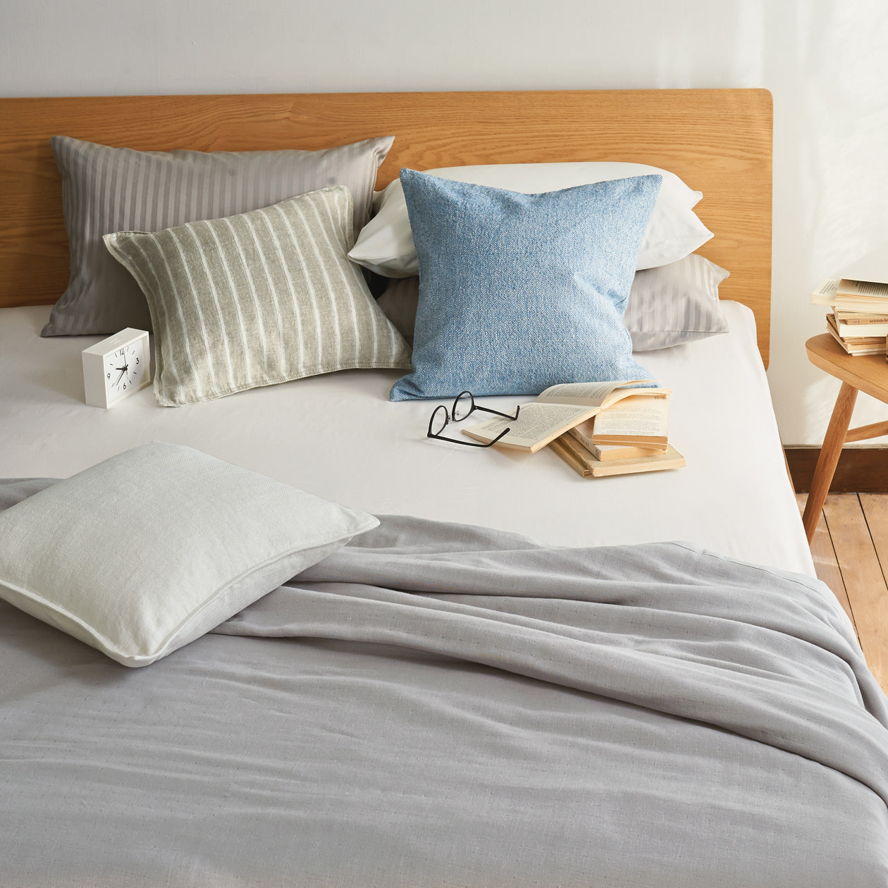Muji Bed Sheets Indian Cotton Hd Satin Fitted Sheet 無印良品 Muji