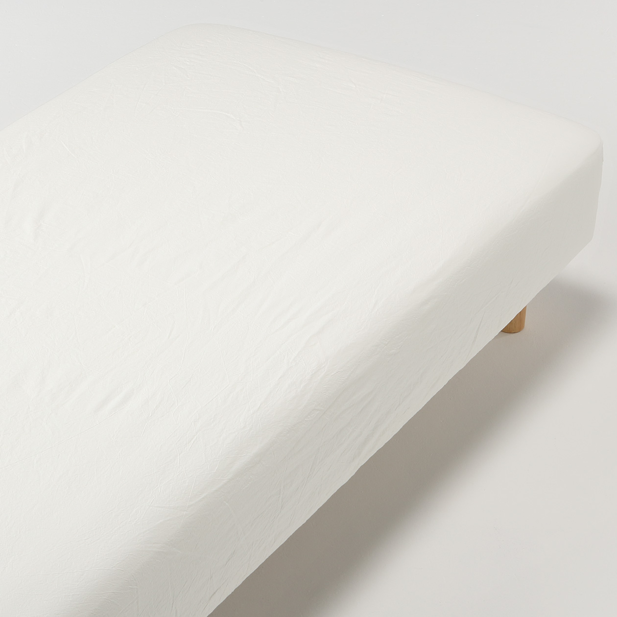 Muji Bed Sheets Organic Washed Cotton Fitted Sheet 無印良品 Muji
