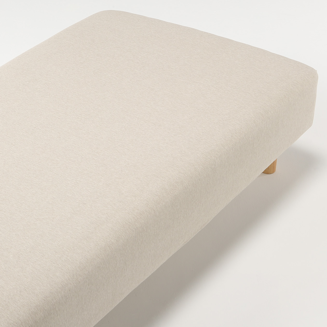 Muji Bed Sheets Organic Cotton Jersey Queen Fitted Sheet 無印良品 Muji