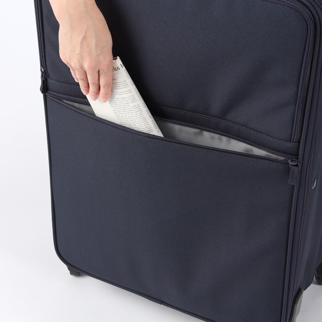 Valise Muji Foldable Soft Carry Suitcase L 無印良品 Muji