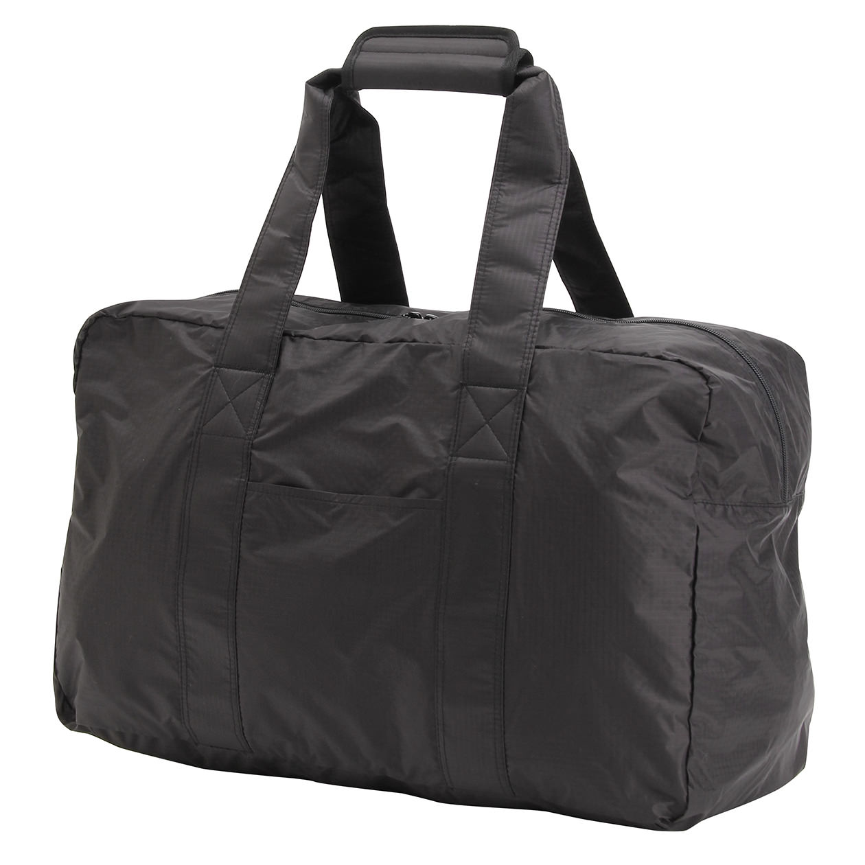 Valise Muji Paraglider Cloth Foldable Boston Bag Carry On Black Muji