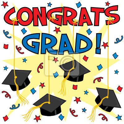 Congrats grad! posters for the wall \u2022 posters high school