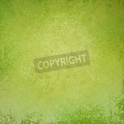 Solid green background design with distressed vintage texture - solid green border