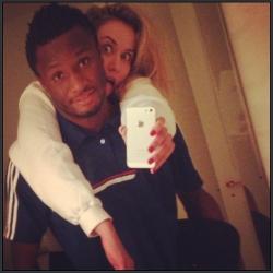Mikel and Girlfriend.jpg