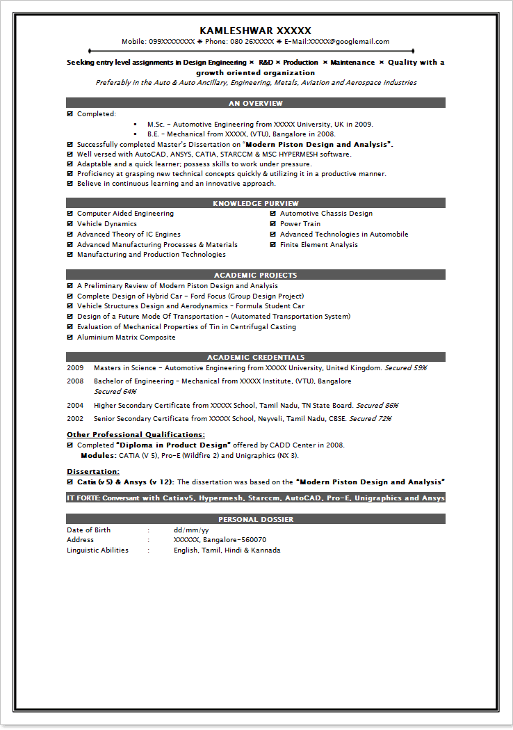 corporate attorney resume sample - Uchicago Resume Template