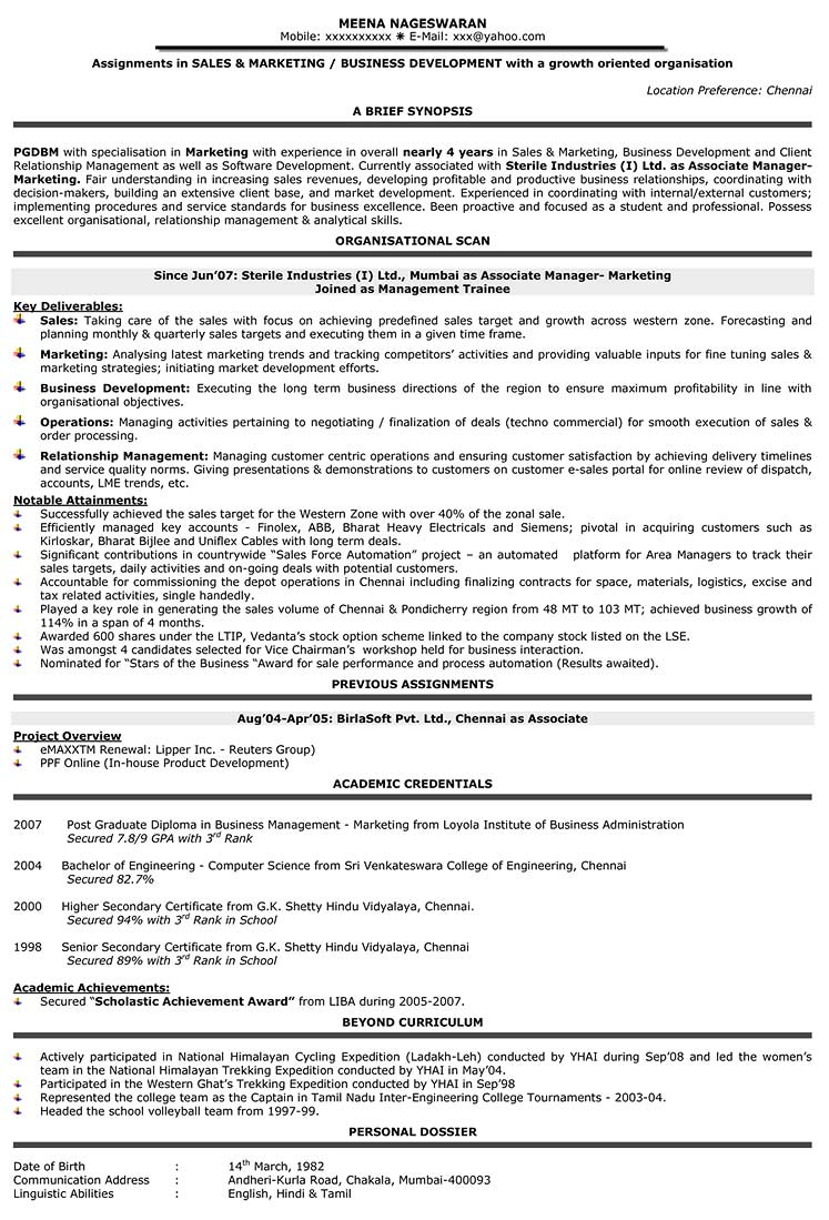 Sample Resume: Sample Resume Direct Sales Representative |.  Direct Sales Resume