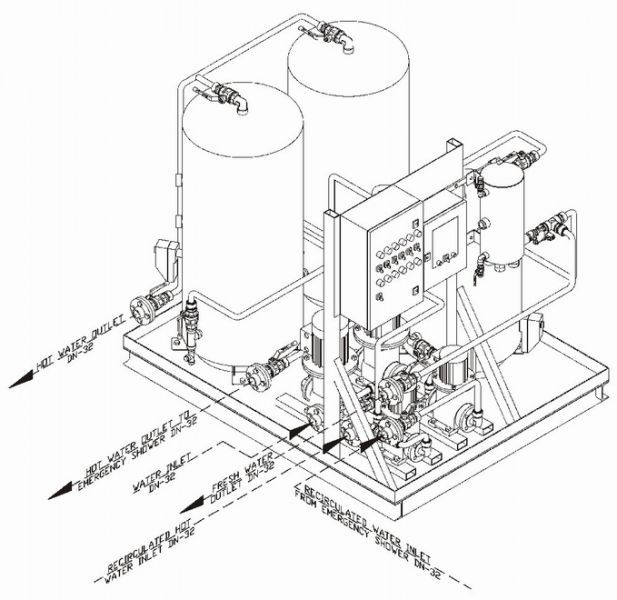 Ship fresh water system - FWU - JOWA AB