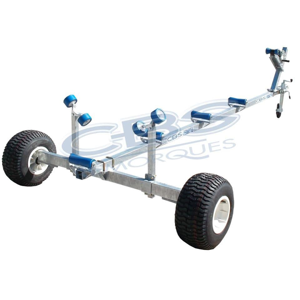 A Frame Trolley Launching Trolley For Power Boats Towable Cm2 Sarl Cbs