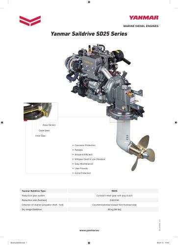 1GM10 - SD25 - Yanmar Europe BV - PDF Catalogs Documentation