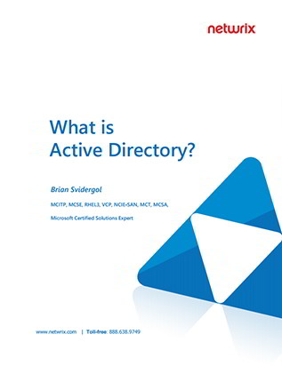Active Directory Basics What is Active Directory