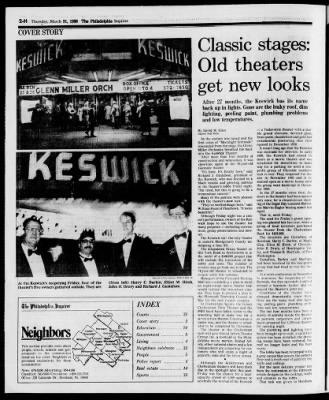 The Philadelphia Inquirer from Philadelphia, Pennsylvania on March