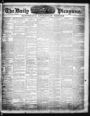 The Times-Picayune from New Orleans, Louisiana on August 16, 1856