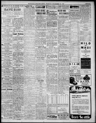 Honolulu Star-Bulletin from Honolulu, Hawaii on November 22, 1932 · 15