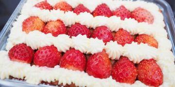 Eat enjoy 意享美式廚房|限量草莓富翁蛋糕超吸睛/限時網購、團購甜點美食/新北林口區三井Outlet旁