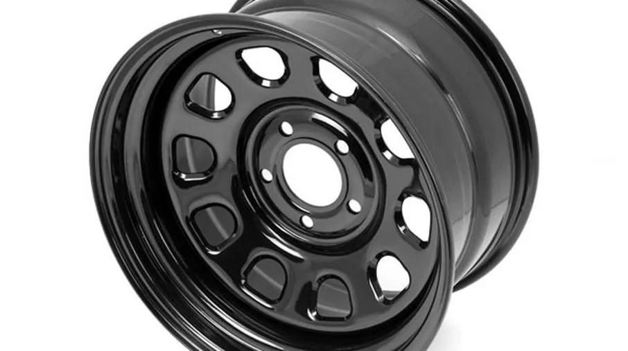 Steel Wheel Black 17quot X 9quot Jk 1550070 Jeepey