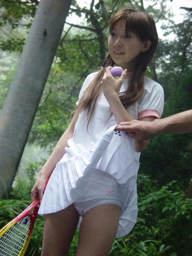 【ヌード画像】テニスウェア美少女に興奮wアンダースコートがいやらしいw(31枚) 07