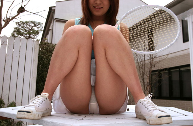 【ヌード画像】テニスウェア美少女に興奮wアンダースコートがいやらしいw(31枚) 11