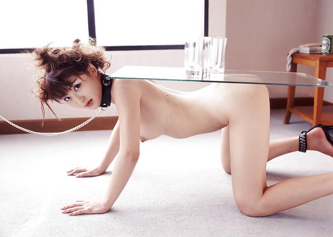 【ヌード画像】首輪つき女の子たちを雌犬扱いしたいw(34枚) 09