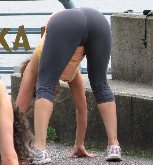 【ヌード画像】スパッツ娘の尻や太ももがムチムチしすぎw(32枚) 09