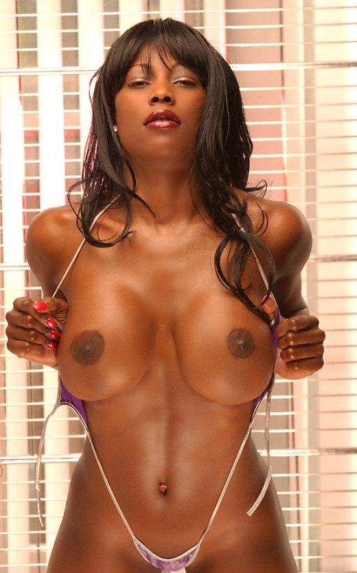 【ヌード画像】黒人美女の裸体はマジで勃起するw(34枚) 15