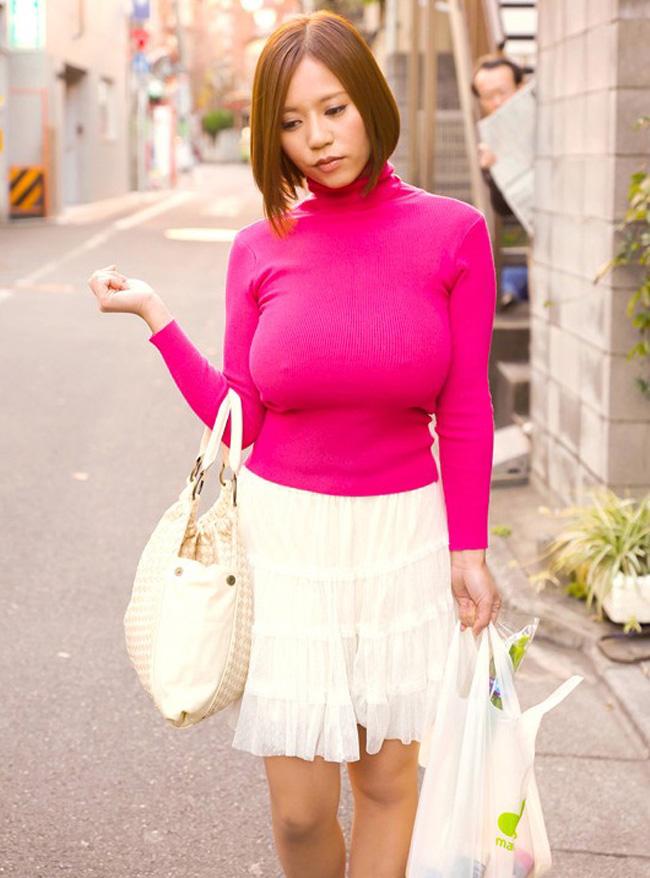 【ヌード画像】巨乳女がセーターを着た結果w(32枚) 21