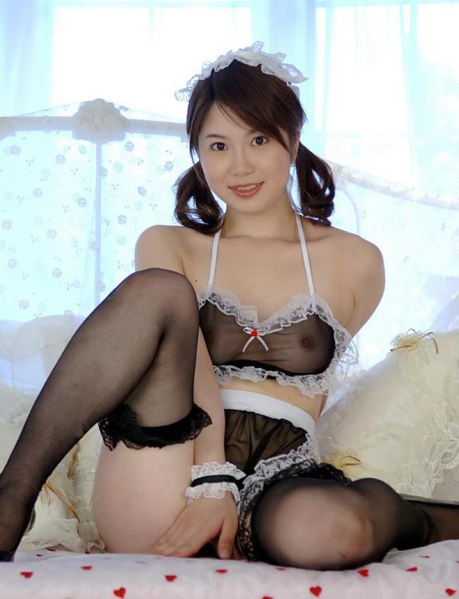 【ヌード画像】シースルー下着美女のスケスケ感w(31枚) 07
