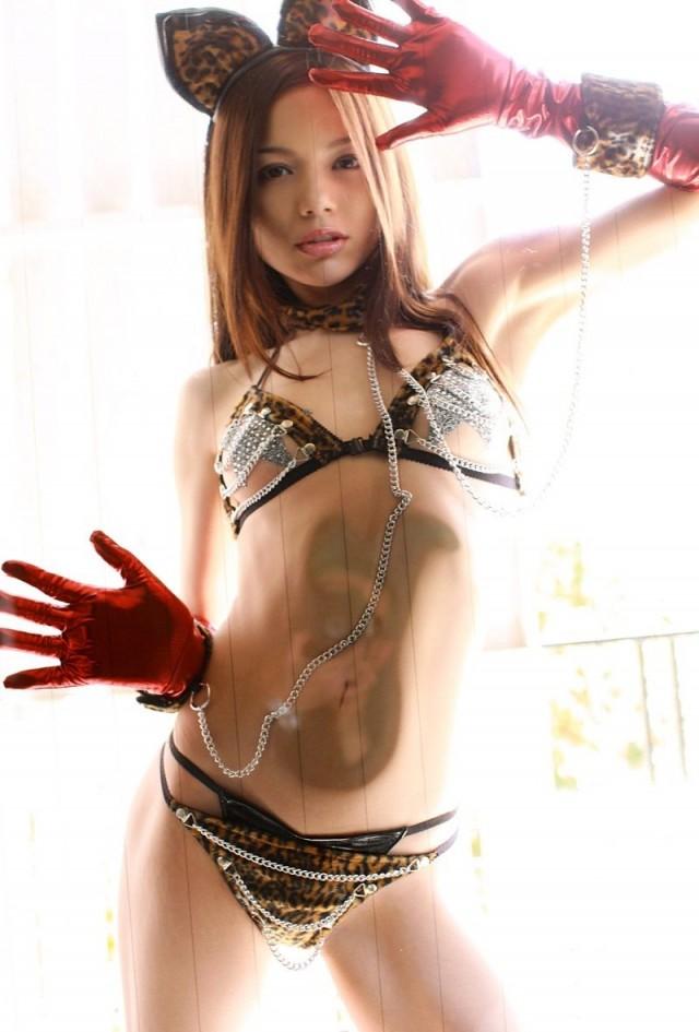 【ヌード画像】豹柄パンティを履いた美女が妖艶すぎて抜けるw(33枚) 17